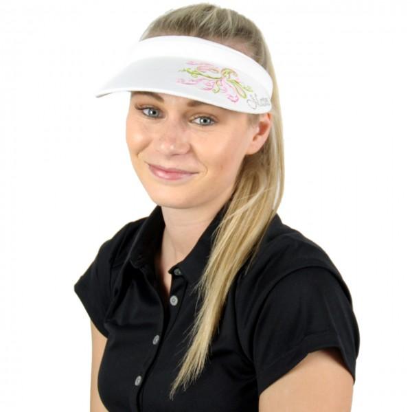 Masters Golf-Visor-w-blum-rosa