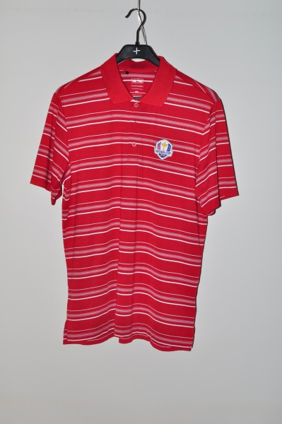 Adidas golf Ryder Cup Polo, Stripe, Rot-weiss, puremotion