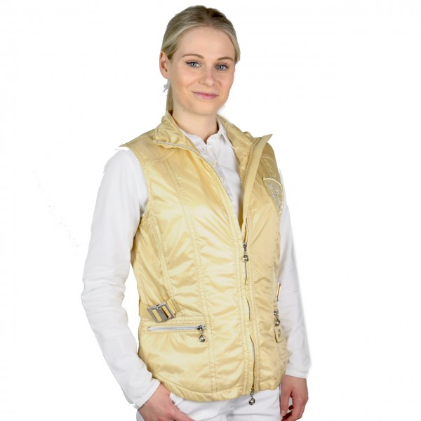 Damen golf mode Masters, Gilet,High Tech Comfort, Windbreaker, beige