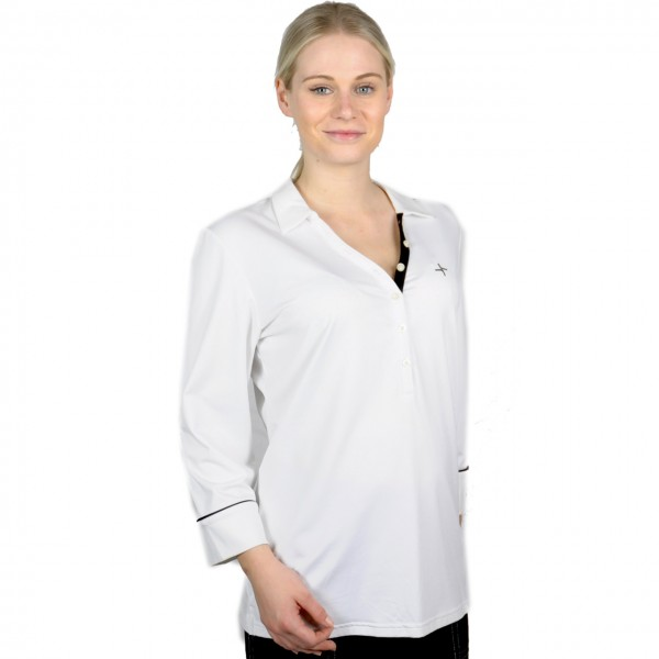 Golfmode Damen dreiviertel Hemd