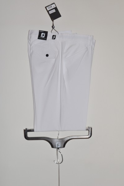 FJ, Athletic,Golfhose, weiss, stretch,