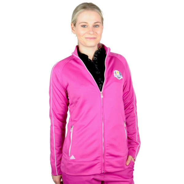 Adidas Golf Ryder Cup Sweater, Magenta, ClimaLite