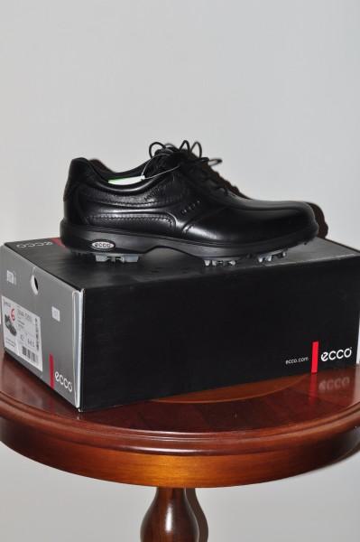 Herrn Golf Schuh Ecco Classic schwarz