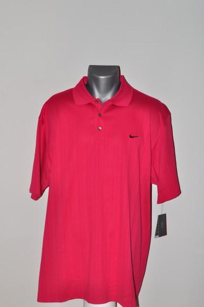 Nike Tiger Polo, merc. Stripe, rot