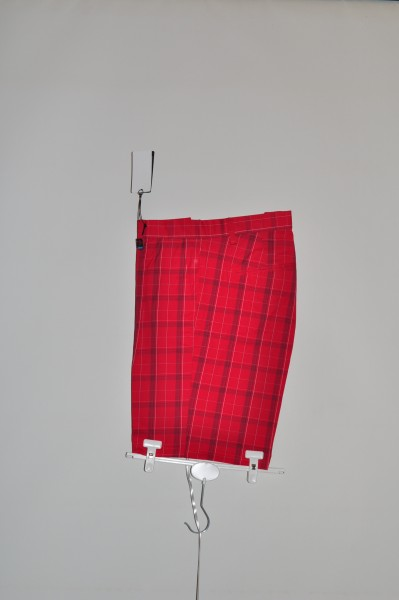 Cross, Tartan, Short, Rot