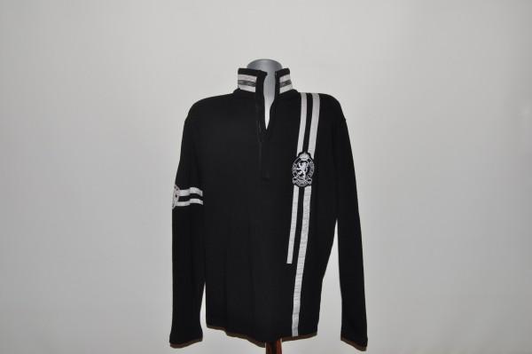 Masters, Sweater, Strech, schwarz