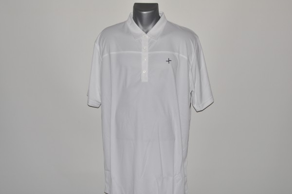 Cross Signature Polo weiss