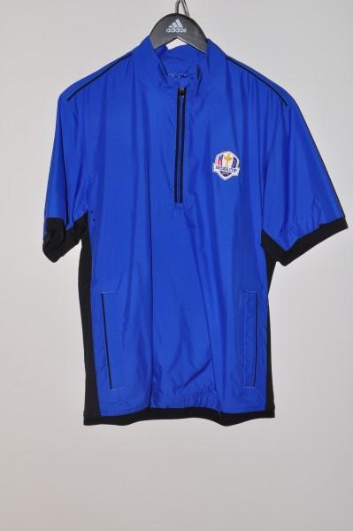Adidas,Golf, Ryder Cup, Windjacke, Mid Blau, 100% Polyester, ClimaProof