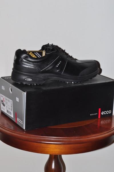 Herrn Golf Schuh Ecco GTX Flexor schwarz