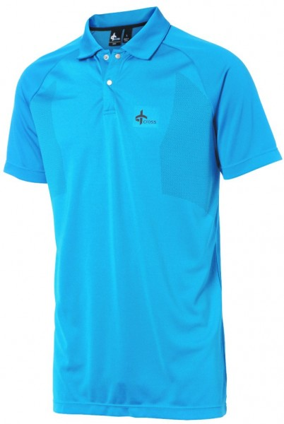 Cross Polo blau,