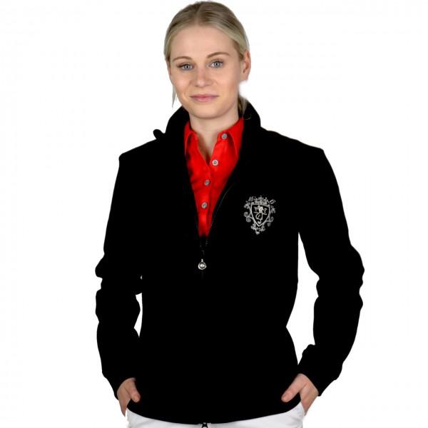 Masters, Sweater, schwarz bestickt