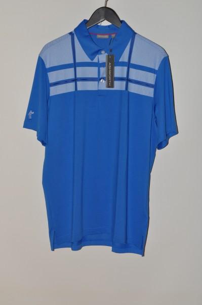 Ashworth, golf Polo, blau