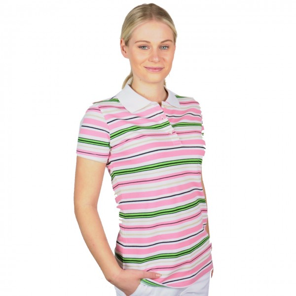 Cross golf mode Polo, Classic Pique, Stripe