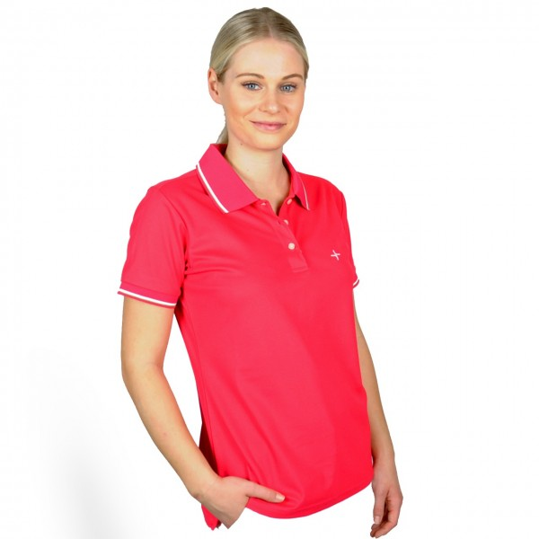 Cross Polo pink, Damenpolo
