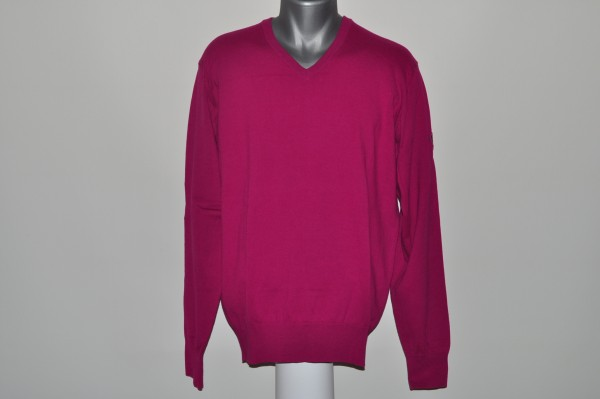 Cross,Cotton, Pullover, Purple Wine