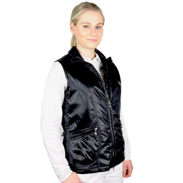 Damen golf mode Masters, Gilet,High Tech, Windbreaker schwarz
