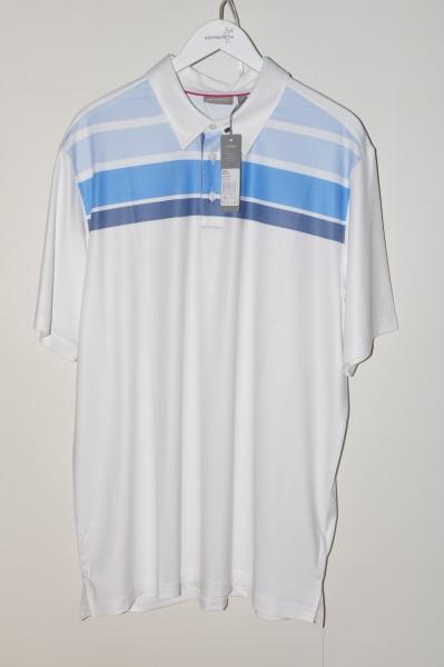 Ashworth, golf Polo, weiss
