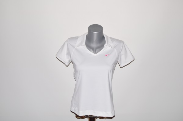 Nike, Polo, weiss