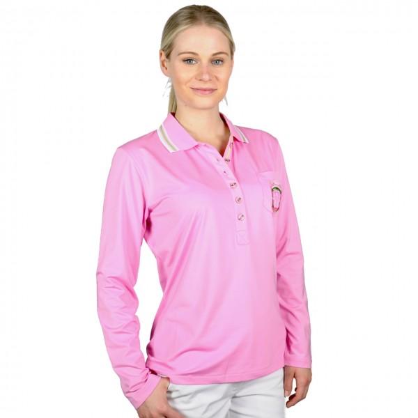 Masters, cool max Poloshirt Damen pink