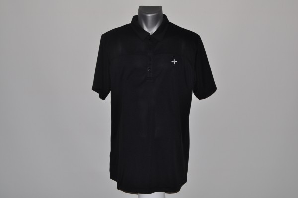 Cross Signature Polo schwarz