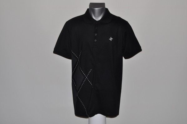 Cross Polo schwarz, COOLMAX