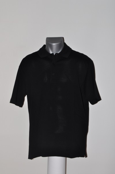 Windstärke Polo, schwarz, Cotton