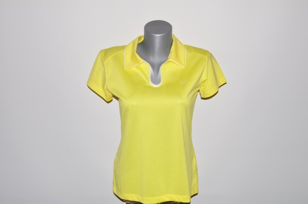 Nike, Polo, gelb