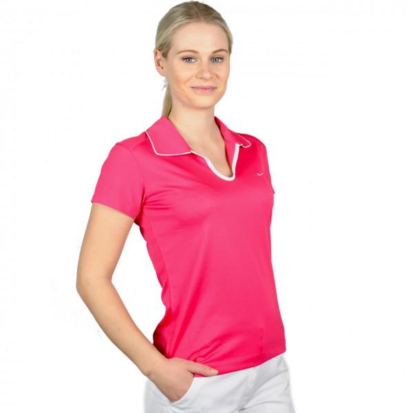 Nike Damenpoloshirt pink