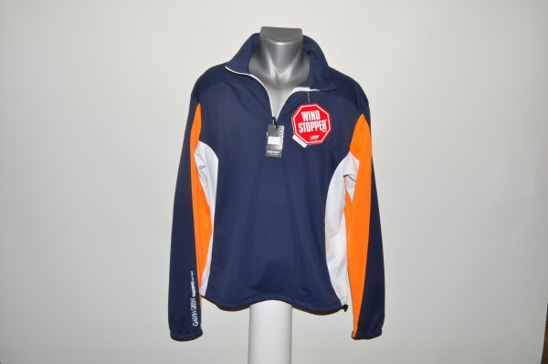 Galvin Green,Windstopper, blau orange weiss, Gore Soft Shell