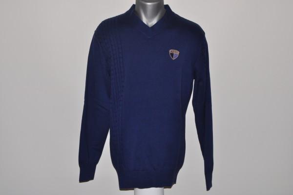 Cross,Cotton, Pullover, blau