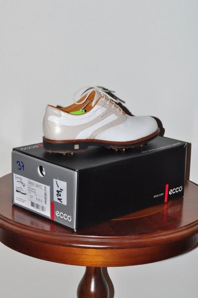Womens New Classic Leder Golf Schuh