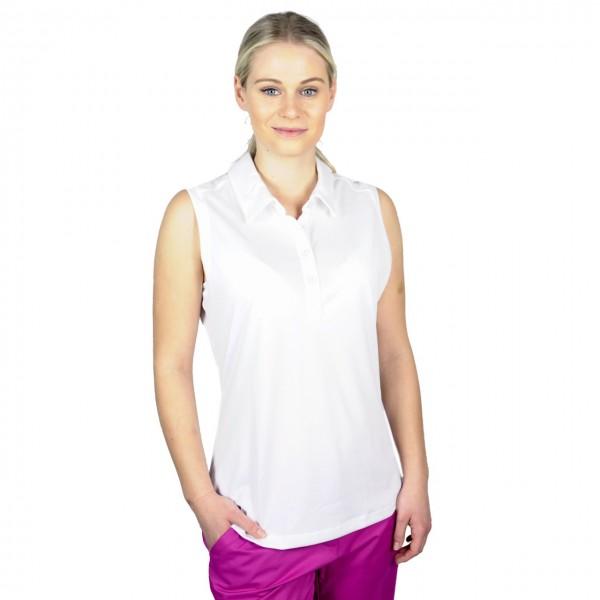 Ashworth golf Poloshirt, weiss