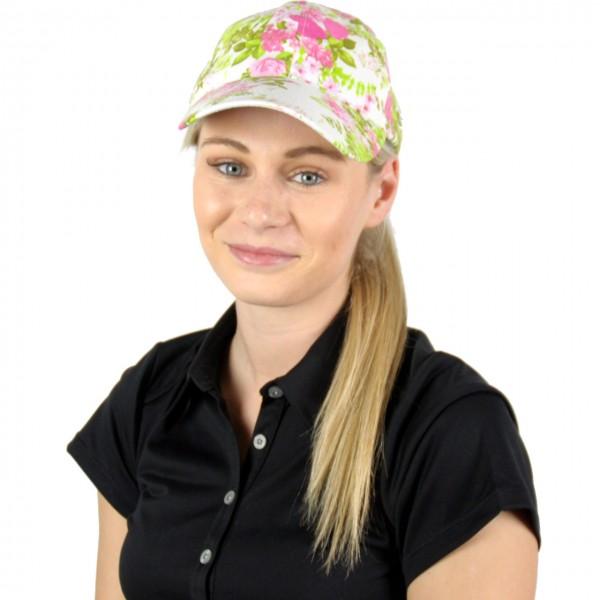 Masters Golf-Cap-w-blum-grün