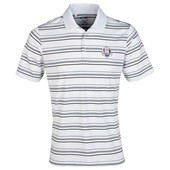Adidas golf Ryder Cup Polo, Stripe, weiss schwarz, puremotion
