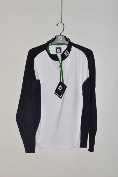FootJoy, golf mode Sweater, Strech, weiss blau grün
