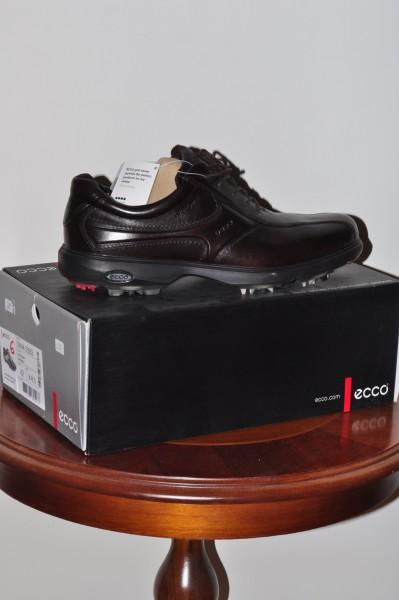 Herrn Golf Schuh Ecco Classic braun