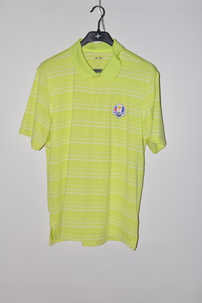 Adidas golf Ryder Cup Polo, Stripe, Bahia-weiss, puremotion