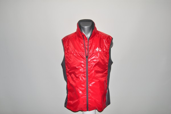 Cross,Wind, vest, rot, windprotection, hauchdünn