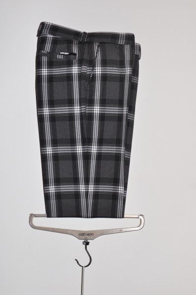 Galvin Green, golfhose, black/white, stretch,