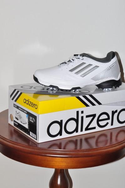 Adizero 6-Spike Herrn Golf Schuh weiss
