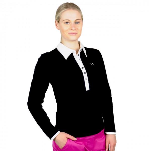 Masters Damenpolo Langarm