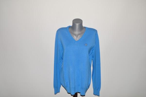 Cross Pullover Dotty blau