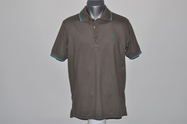 Cross Polo, stone,Coolmax,