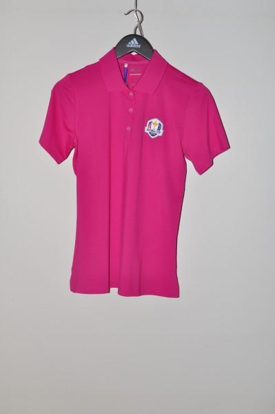 Adidas golf Ryder Cup Polo, Stripe, Magenta,  puremotion