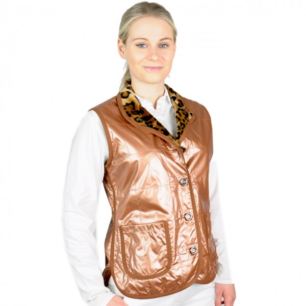damen golf mode Masters Gilet, High.Tech Comfort, Windbreaker, bronze