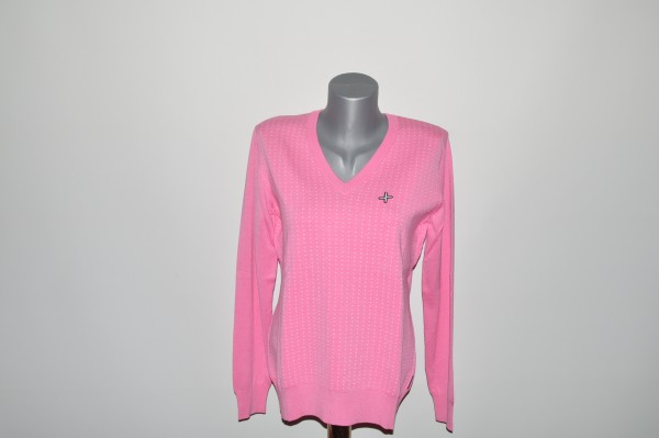 Cross Pullover Dotty rosa