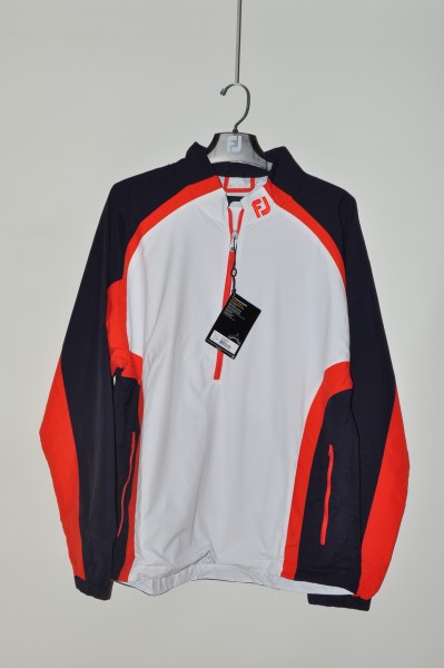 FootJoy, golf Wind Jacke, Blau weiss orange
