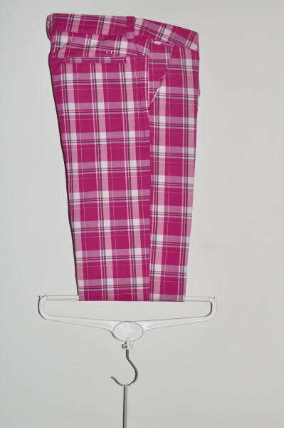 Cross, Hose, Chino, Purple Tartan