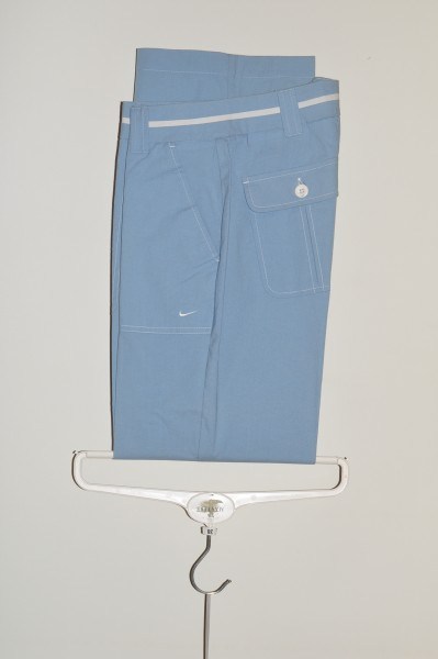 Nike, 2 in One Hose, lang und 3/4, stone blue,